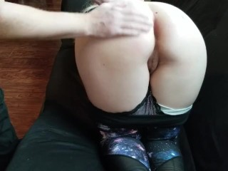 Spanked On The Couch