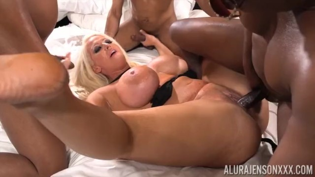 Sample porn trailor Gang of chocolate cocks juice my pussy trailor