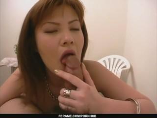 Anna Masturbates And Gives A POV Blowjob - - More at Slurpjp.com