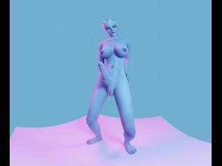 MASS EFFECT FUTA LIARA JERK TILL CUMSHOT 4K 60FPS VR [Animation by Likkezg]