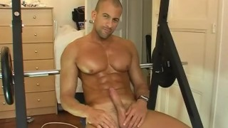 Marco, My gym fellow made a gay porn in spite of him ! Jocks cumshots