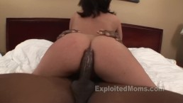 Hot Babe Latina Milf w Big Booty Gets Fucked by BBC in Interracial Video