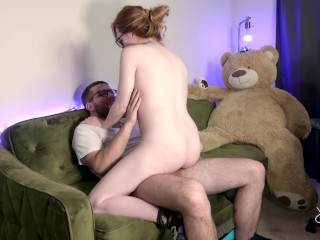 Big wet assess 22 using my neighbors cock to cum multiple times, rough petite redhead doggystyle rid