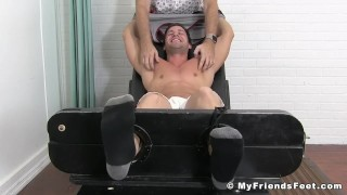 Young hunk Aldo turns helpless during torment fetish 3dxxxgay.com 3d