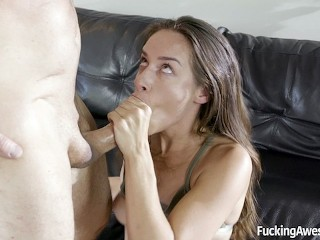21sextreme grandpa cassidy klein solves her financial problem, fuckingawesome petite brunette blowjo