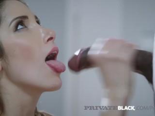 Bubble butt booty porn stunning brunette clea gaultier seduces big black cock!, clea gaultier privat