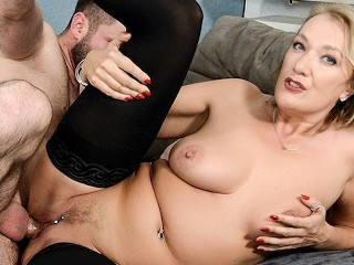 Fucked in throat by 3 cocks