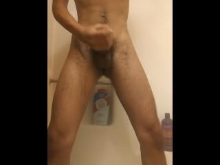 Black chest hair hairy orgasm