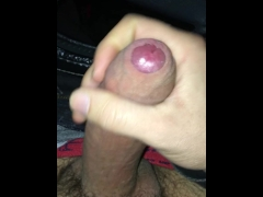 Amateur Video Horny Guy Masturbating After Pulling Over His Car
