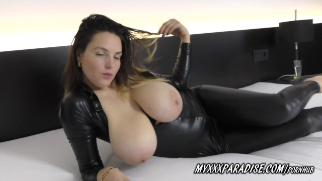 Big boob paradise 6 iafd review Talia amanda new busty model in latex
