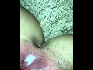 Shes not on bc but begged me to cum in her pussy