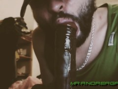 4K INSTRUCTION OF A DEEP THROAT OF HUGE DICK OF STEPFATHER