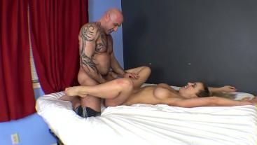 Fun Sex at Home with Cherie DeVille | Handjob, Footjob, Blowjob, Creampie