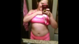 Young Teen Posing In Bathing Suit