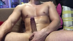 Jerking off while girlfriend is away