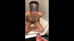 Young Japanese Teen Takes Blindfolded Piss in Mouth - ThePepperArchives