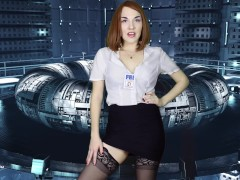 Alien Dana Scully Cum Draining JOI! The X-Files Femdom Cosplay Tease