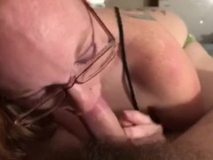 My ole lady giving me a blowjob