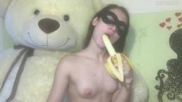 Horny Teen Loves Big Bananas - MaryVincXXX