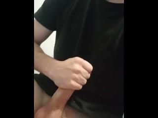 Touching myself at work