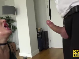 Doctor fuck doctor submissive in cellophane, pascalssubsluts kink ass fuck bdsm fetish