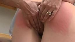 Perfect Ass Spanked and Jiggle Sinn Sage