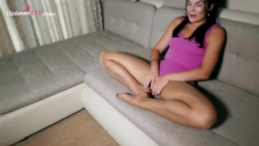 PAWG Mastrurbation Wet Pussy in Stokings