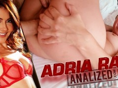 ADRIA RAE GETS ANALIZED AND REVEALS STORY ABOUT HER FIRST ANAL EXPERIENCE!