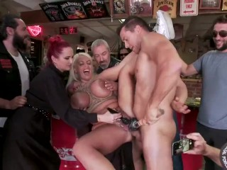 Ramon Nomar and Mz. Berlin take antage of sexy Candela X