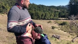 Mountaintop Blowjobs between friends