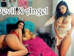 Devil X Angel Joi Jerk Off Instruction Vem Gozar p/Sua Diabinha e Sua ANGEL