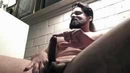 HOT! Uncut Beard Muscle Flexing - No Cum