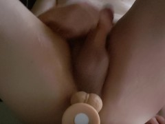 masterbate with dildo in my ass