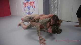 Bella Rossi rolls harder than ever in her wrestling match against Ruckus