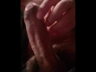 Latin male masturbating during playing a...