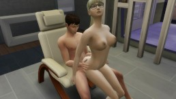 The Sims 4 Foot massage turns into hot fuck: Wicked Sex Episode 5