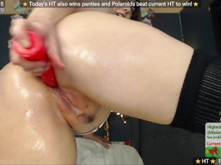 Oily Ass + Dildo play - MFC Show Recording