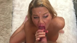 MILF'S CUM ON FACE & IN EYES COMPILATION