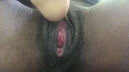 Working my dildo