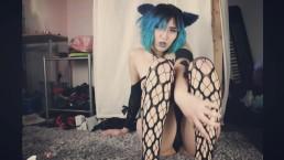 Glass Dildo Sex Kitten Tease & fuck Preview