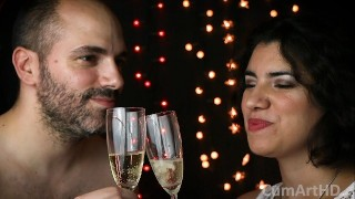 Best Porn Movie - Happy New Year 2019! Cum & Champagne, How Classy! (Cum On Food 4