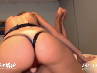 Strap On Threesome Double Facial – Amateur MySweetApple and AnahHabana