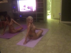 Naked Yoga with Adriana Chechik