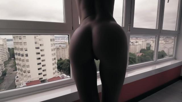 Real Homemade tape POV - Blowjob, Doggstyle, Cum mouth / Sasha Bikeyeva