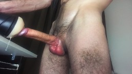 Horny Male Big Cum Mess On Fleshlight