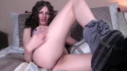 Jerk it for me daddy (with Sabrina Deep) JerkOffInstructions.com