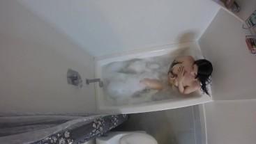Bathroom Peeping Tom Caught And Teased