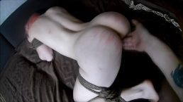 Frogtie fuck spank and suck