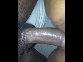 Hollow strap on min forste orgasme
