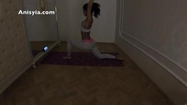4K Anisyia Livejasmin Yoga exercises